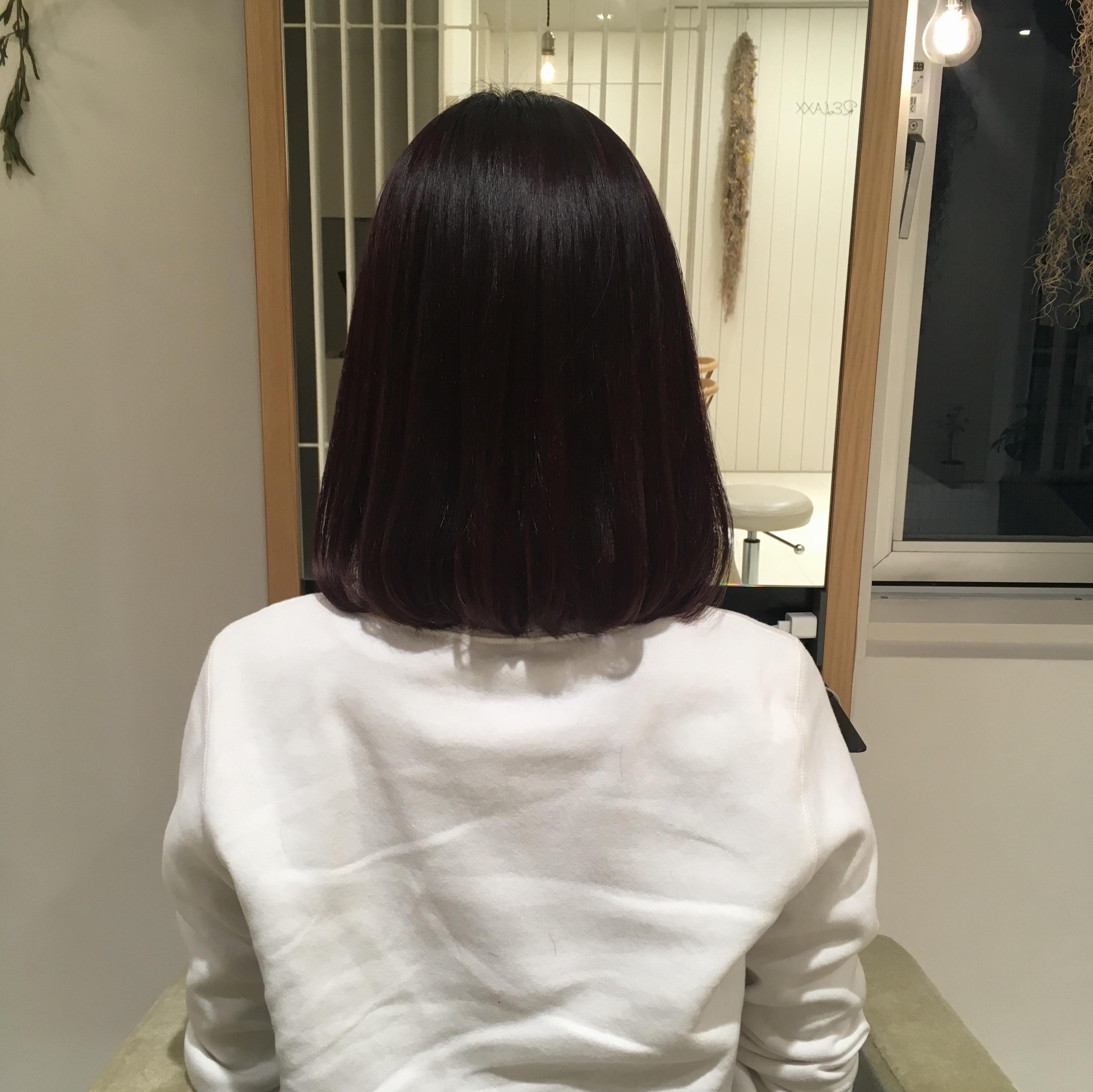 【ヘアカラー】大人カワイイ♡ヘアカラーは「ショコラベリー」_2