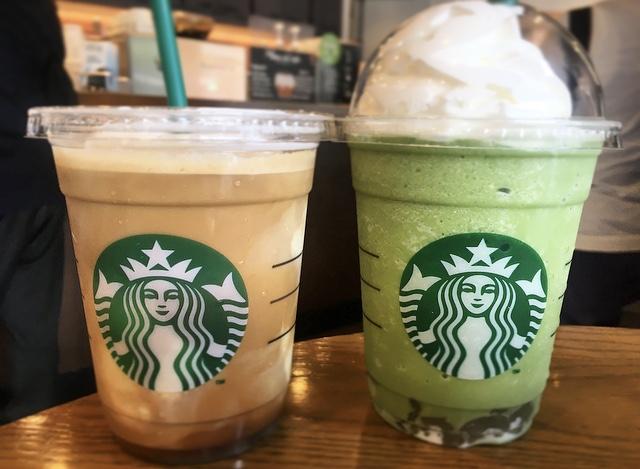 【スタバ】夏に飲みたいわらび餅入り抹茶フラペ♡_4