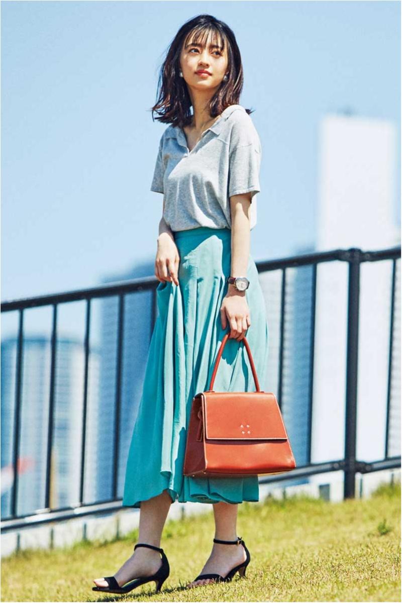 真夏のオフィスカジュアル特集 - ワンピースやTシャツなど、涼しげだけどきちんと見えが叶うコーデ_14