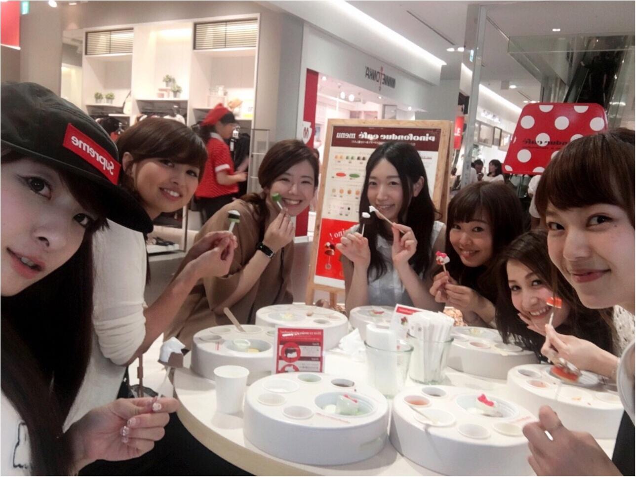 アイスの『pino』がつくった【ピノフォンデュカフェ】今年も東急プラザ表参道原宿3Fにオープン!大阪も今週末オープン✨≪samenyan≫_3