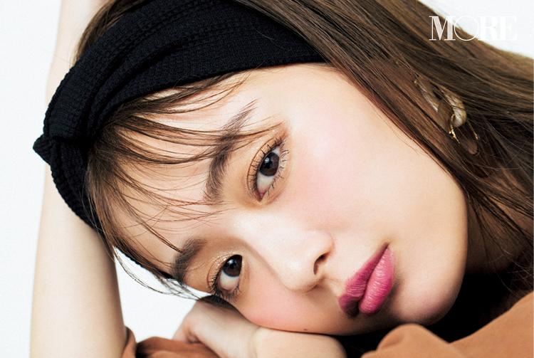 目指すは内田理央フェイス♡ アースカラーコーデの日のメイク、コツを教えます!_5
