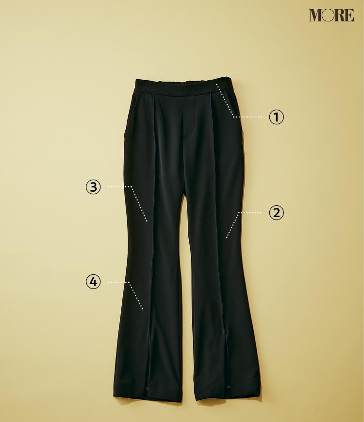 骨格診断でウェーブタイプさんに似合う黒パンツのポイント
