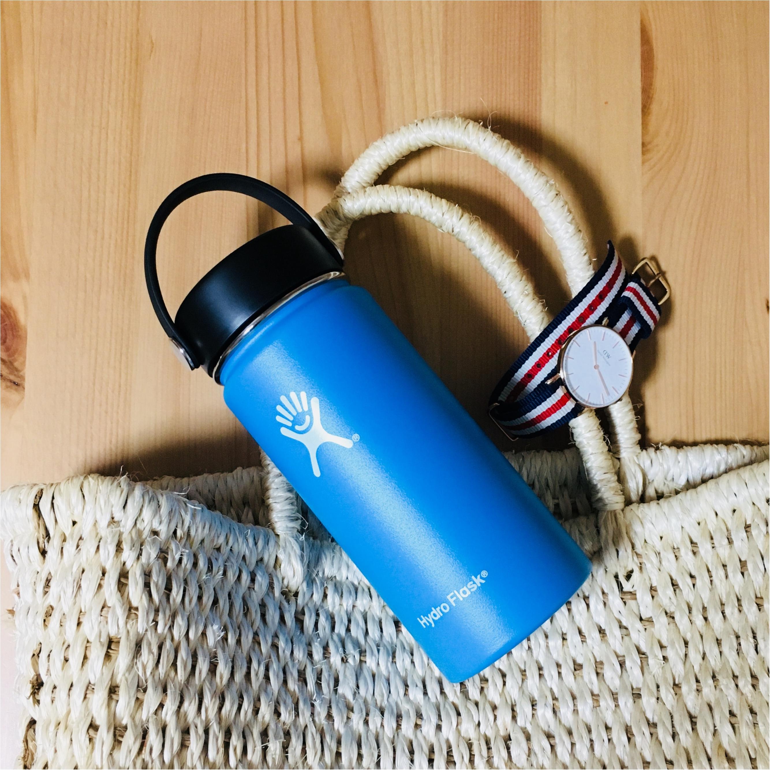 日本上陸!【Hydro Flask】の水筒はお洒落で機能も抜群♡_2
