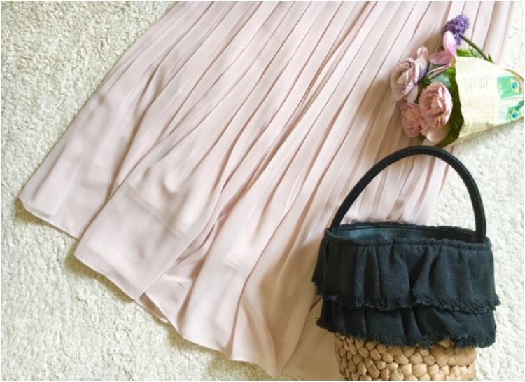 【ユニクロ】揺れ感が可愛すぎる❤️待ちに待った《春色スカート》は買うなら今がオススメ!_3