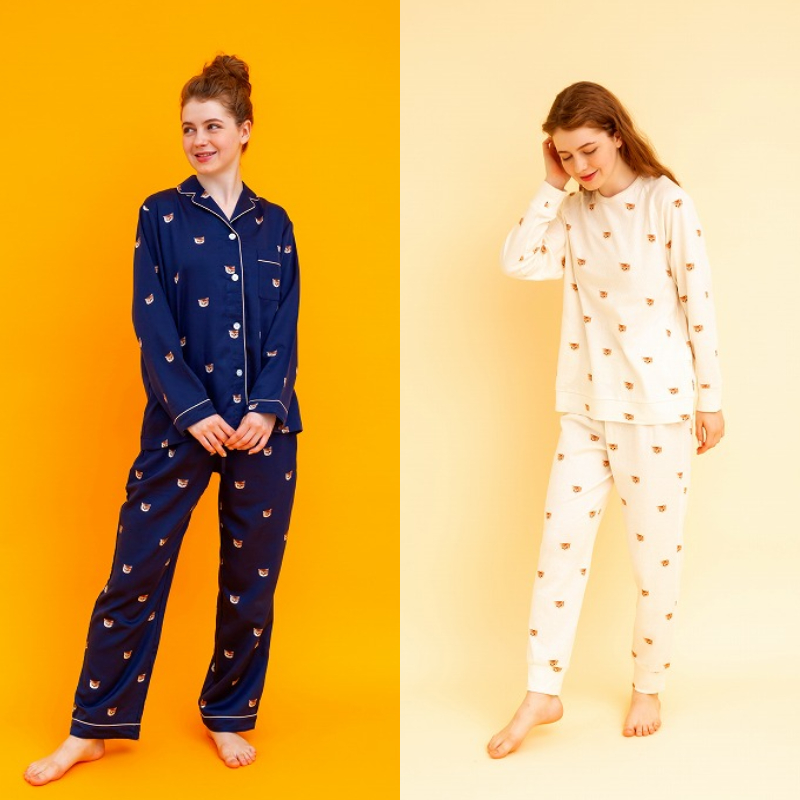 『ポール & ジョー』ヌネットパジャマを着用した画像
