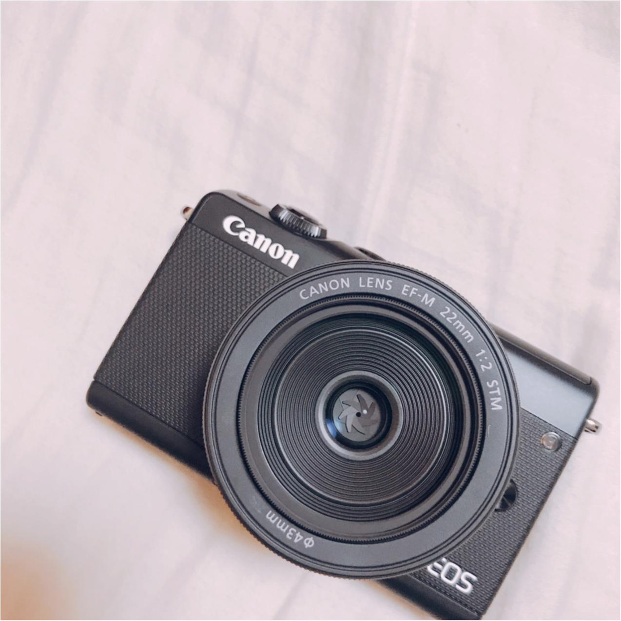 自分へのご褒美!CanonのEOS M100で念願の【カメラ女子】デビュー♡_2