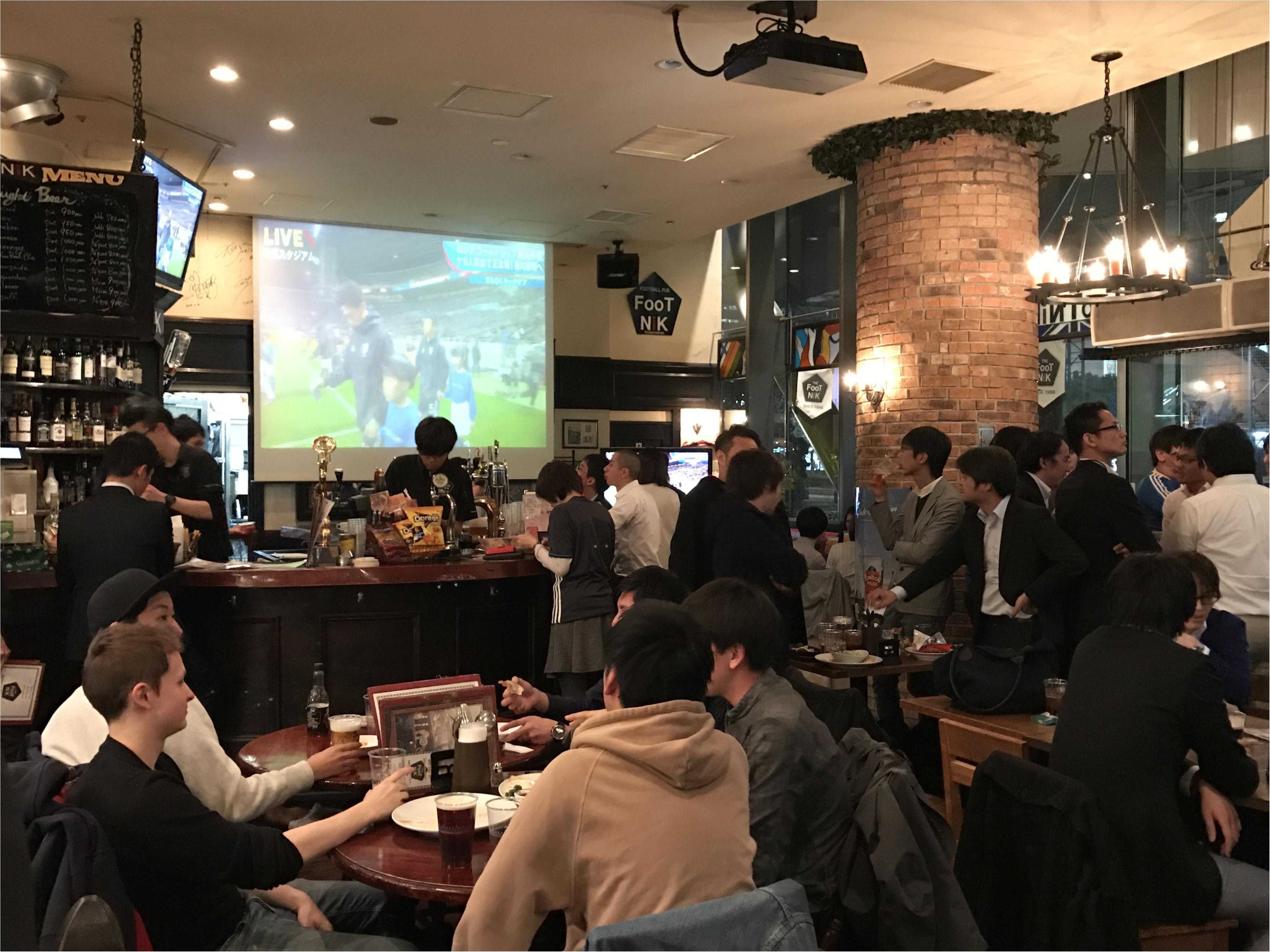 スポーツバーなら【FooTNIK】★サッカー日本代表戦★_3