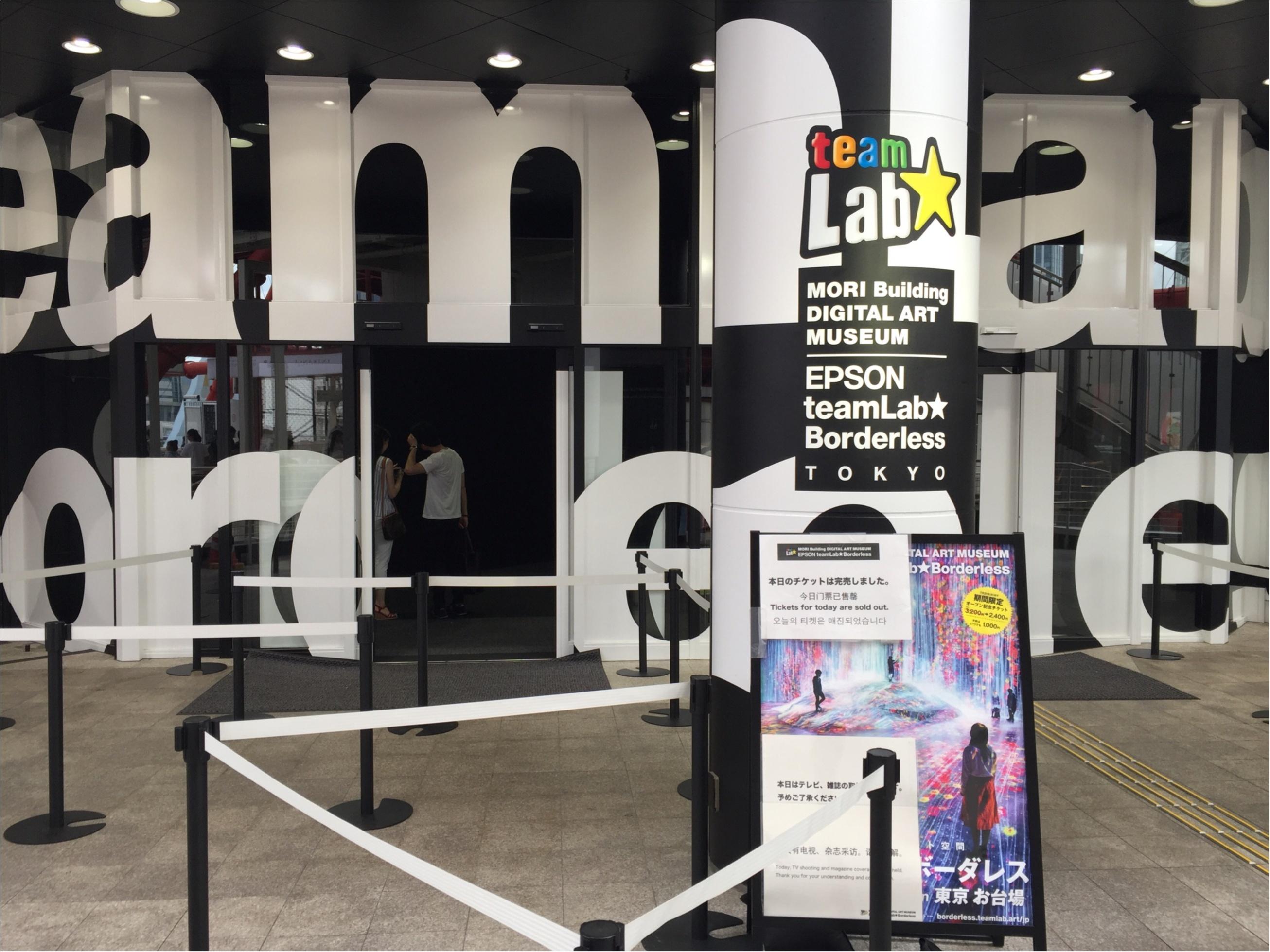 【お台場】チームラボのデジタルアートミュージアムは写真を撮りたくなるスポットがたくさん♡_1
