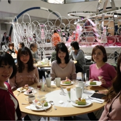 【スイーツ】モアハピ部でピンククリスマス♡