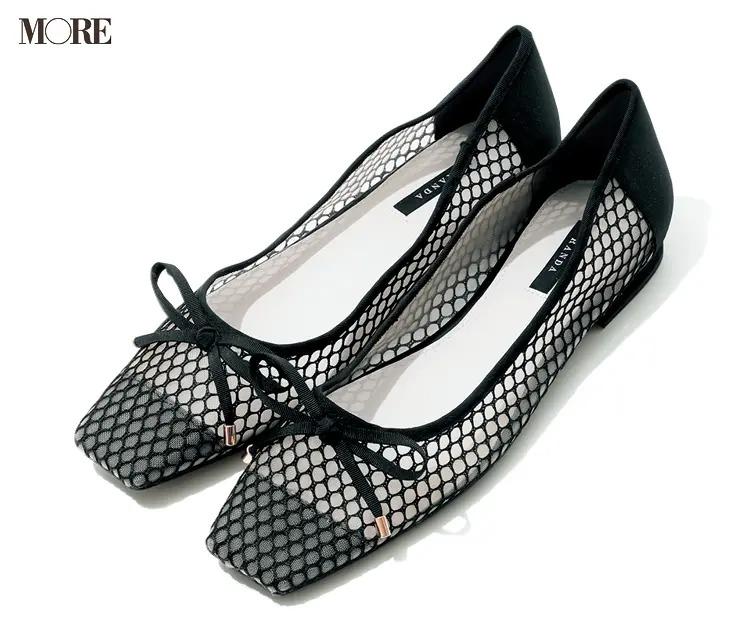 【人気ブランドのおすすめ靴】『RANDA』リボンつきパンプス