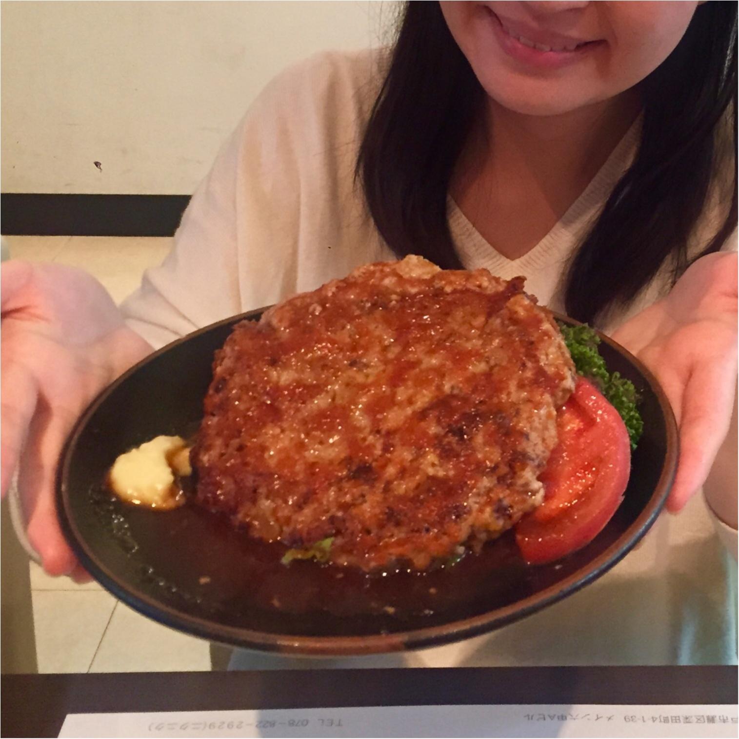 歌手のゆきこちゃんと、大きなハンバーグを食べに谷六へ、、♡_1