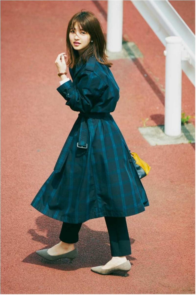 定番アウター【トレンチコート】の今どきコーデ10選    ファッション(2018年秋)_1_1