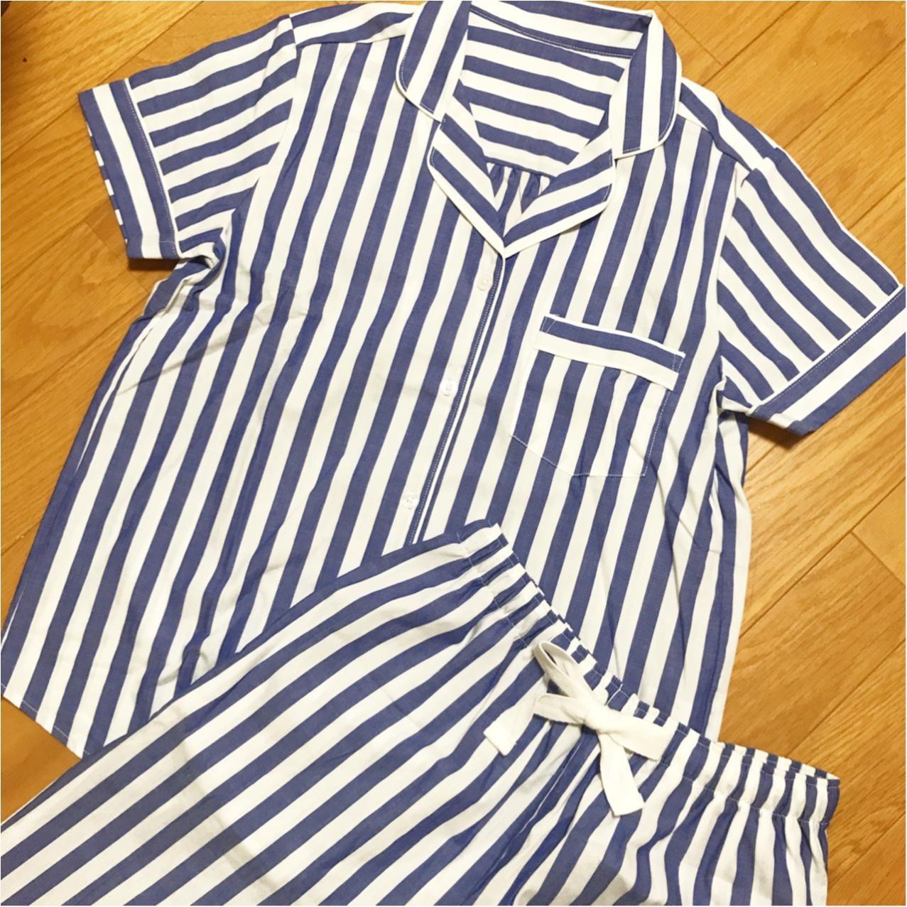《プチプラ&かわいい♡》夏用パジャマもやっぱり【GU】をご指名!_2