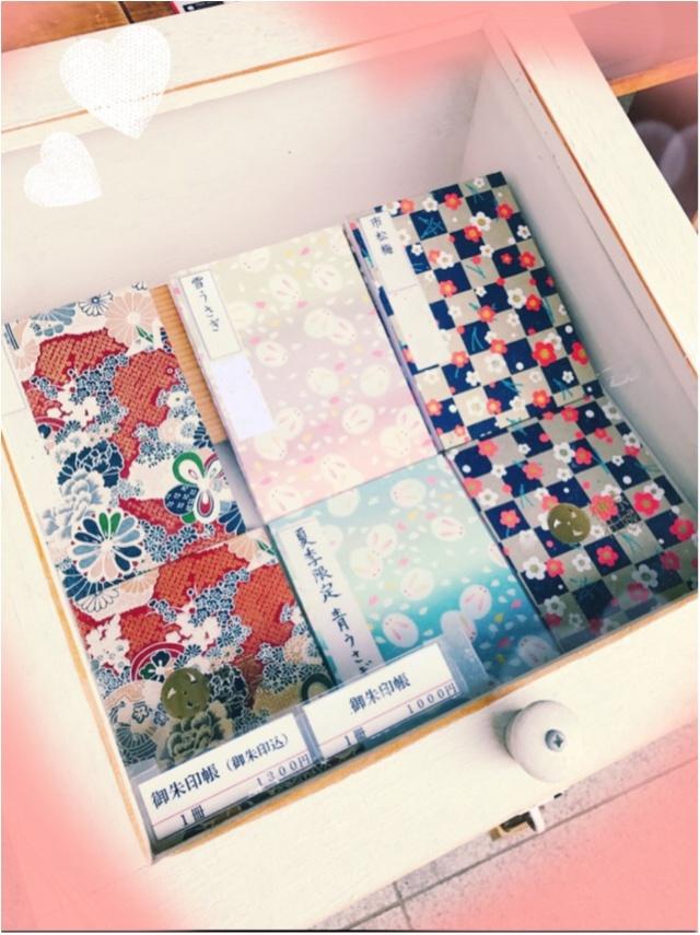 御朱印ガールデビュー☻日本一オシャレな神社!?として有名な「赤城神社」@神楽坂の御朱印帳が可愛いってウワサ♡_5