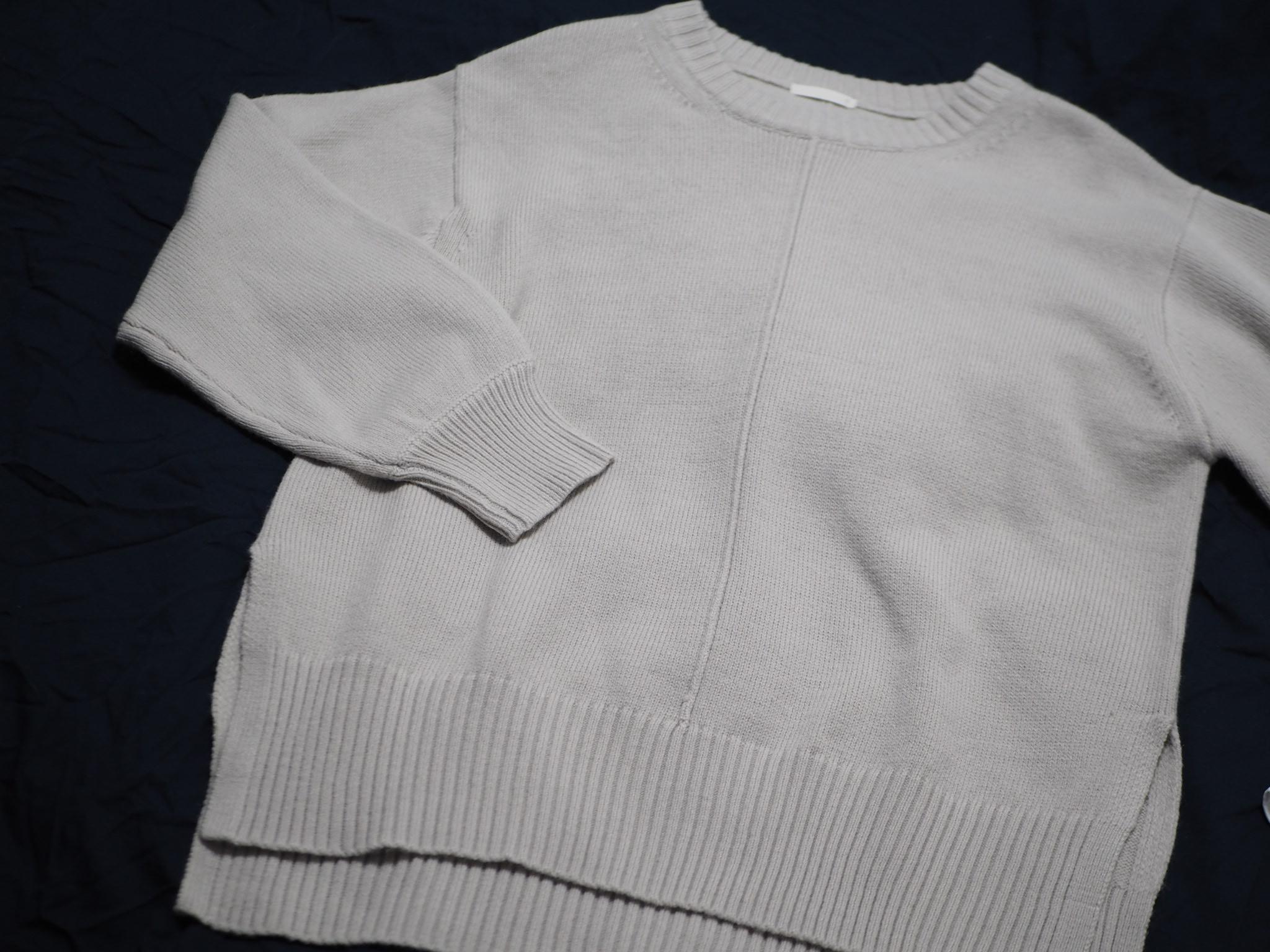 【GU】今から春までそれぞれ使える!レイヤードシャツ風タンク&ニット♡_4
