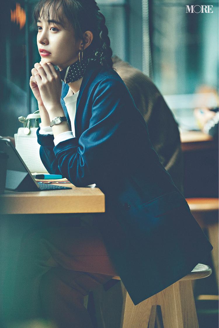 「同期女子とランチへ。衝撃のニュース発覚!」井桁弘恵主演[2月→4月の計画的買い足し着回し]5日目_1