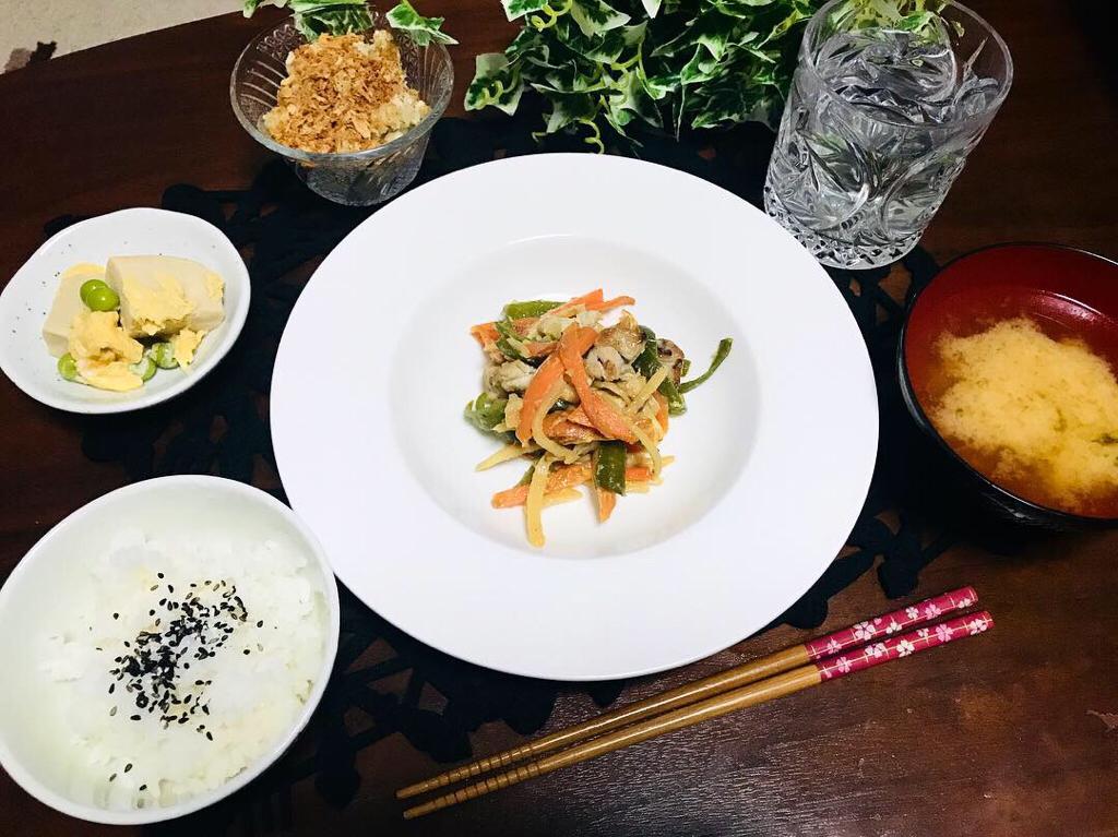 【今月のお家ごはん】アラサー女子の食卓!作り置きおかずでラクチン晩ご飯♡-Vol.2-_9