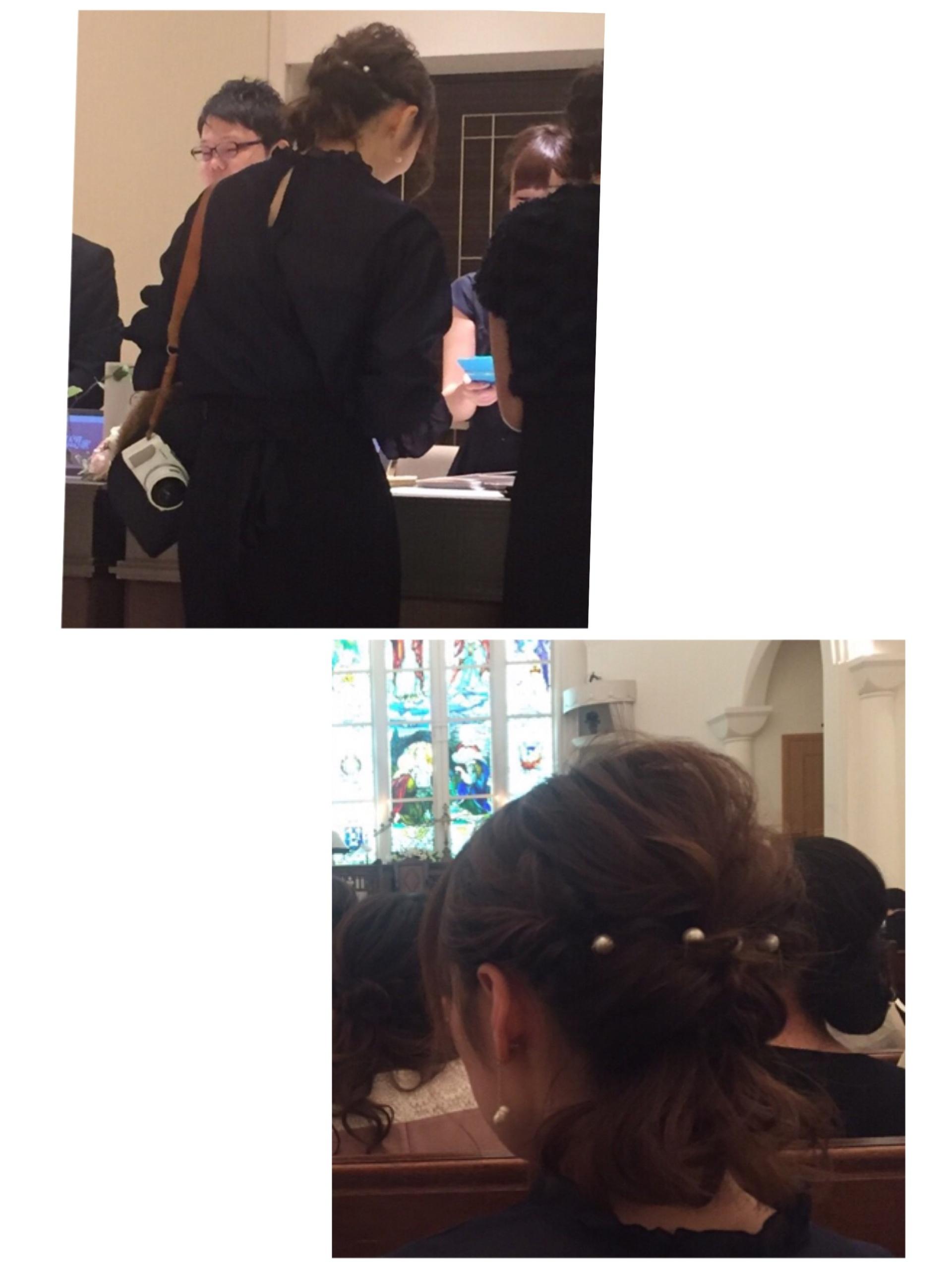 ★挙式•披露宴のファッションとヘアはこんな感じでした♩_6