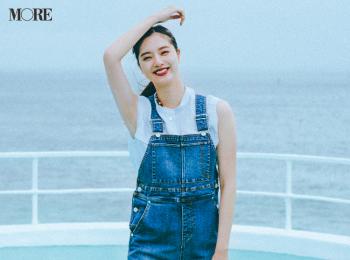 新川優愛は自分らしいフレンチシックコーデでデートへ。最高の夏になりそうな着回し15日目