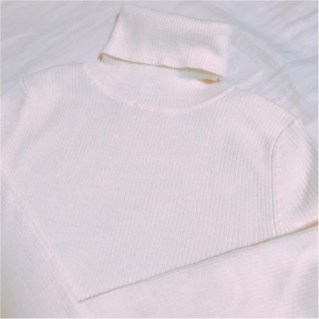【11/22までお買得♡】ユニクロの《リブタートルネックセーター》が進化したっ!_1