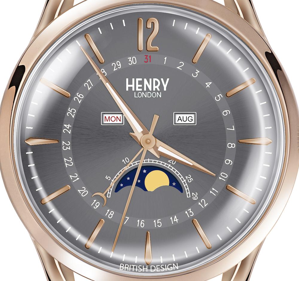 """腕時計の機能""""ムーンフェイズ""""って知ってる?『ヘンリーロンドン』の ..."""