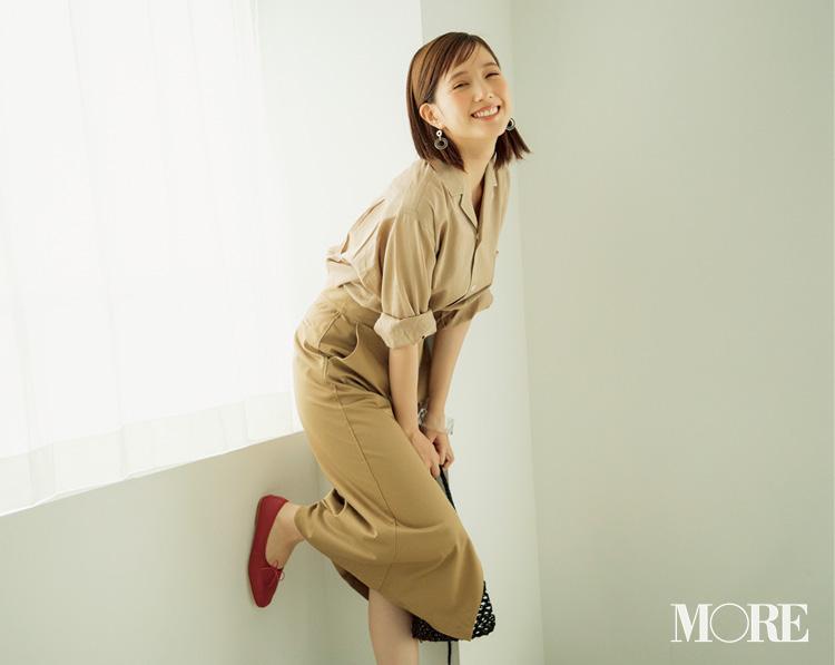 ベージュの服を着る日は「ハッピーな血色感メイク」が好相性♡ メイクで手持ちの服がもっと素敵になる♡♡_2