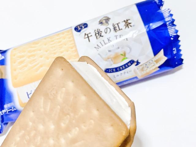 【新発売】コンビニ限定!人気のビスケットアイスが午後の紅茶とコラボ_2