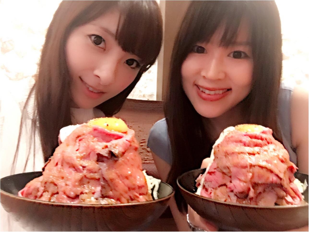 超絶大人気【話題のローストビーフ丼】渋谷にopen‼︎♡モアハピ◡̈のぞみ♡_9