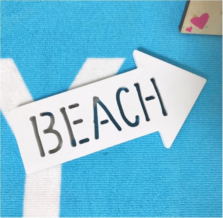 【ITEM】フォトジェニ写真♡!100円ショップのアイテムで、BEACHの写真をもっと可愛く♡PART1_2