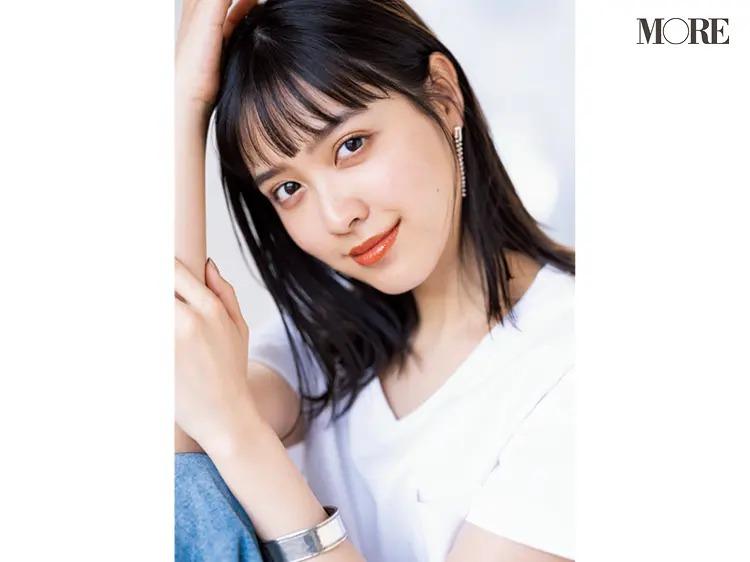 雑誌MOREの専属モデルを務める松本愛さん