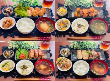 【今月のお家ごはん】アラサー女子の食卓!作り置きおかずでラク晩ご飯♡-Vol.21-