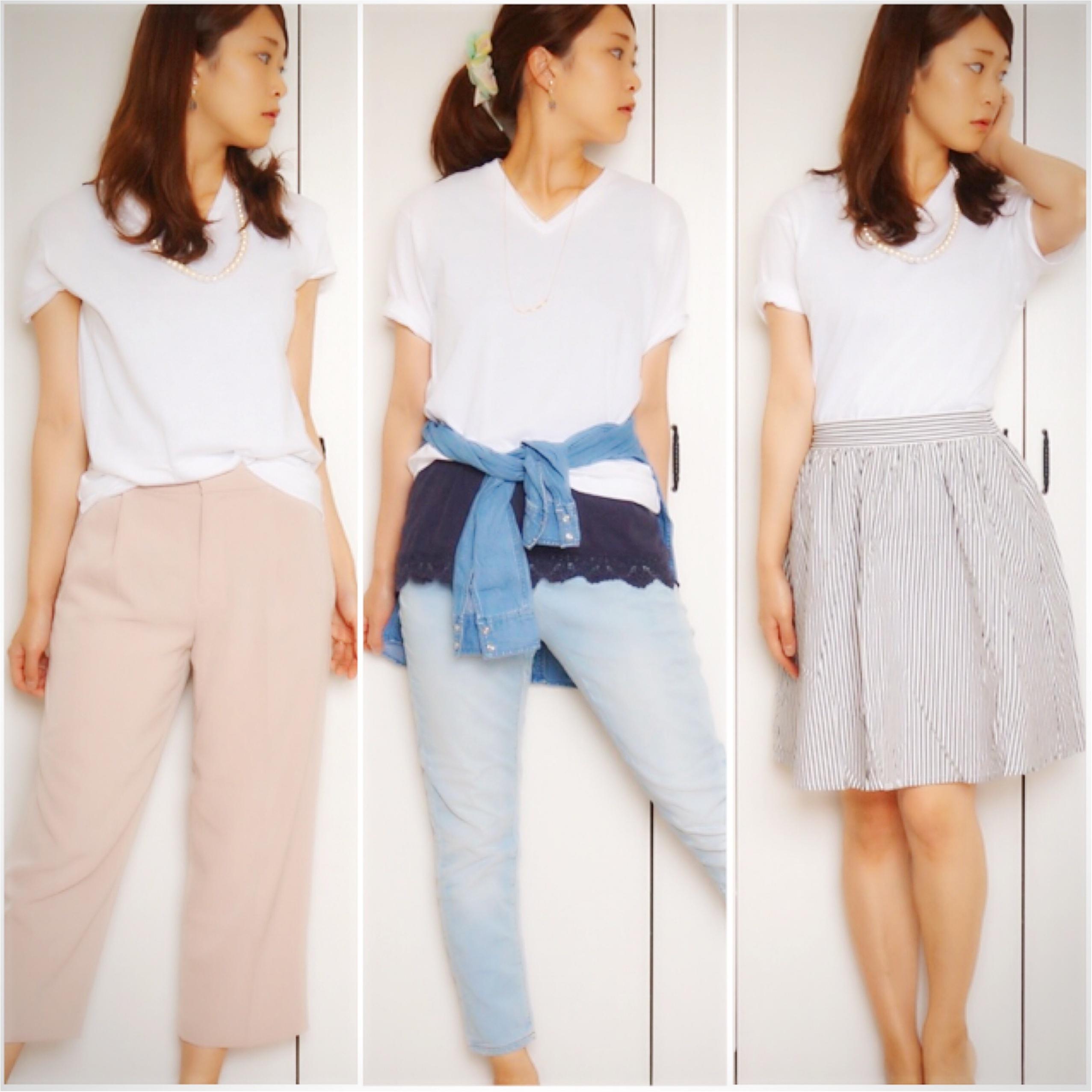 【MORE7月号】この夏白Tシャツは3枚必要‼︎まずは大人気UNIQLOパックTをゲット❤️_6