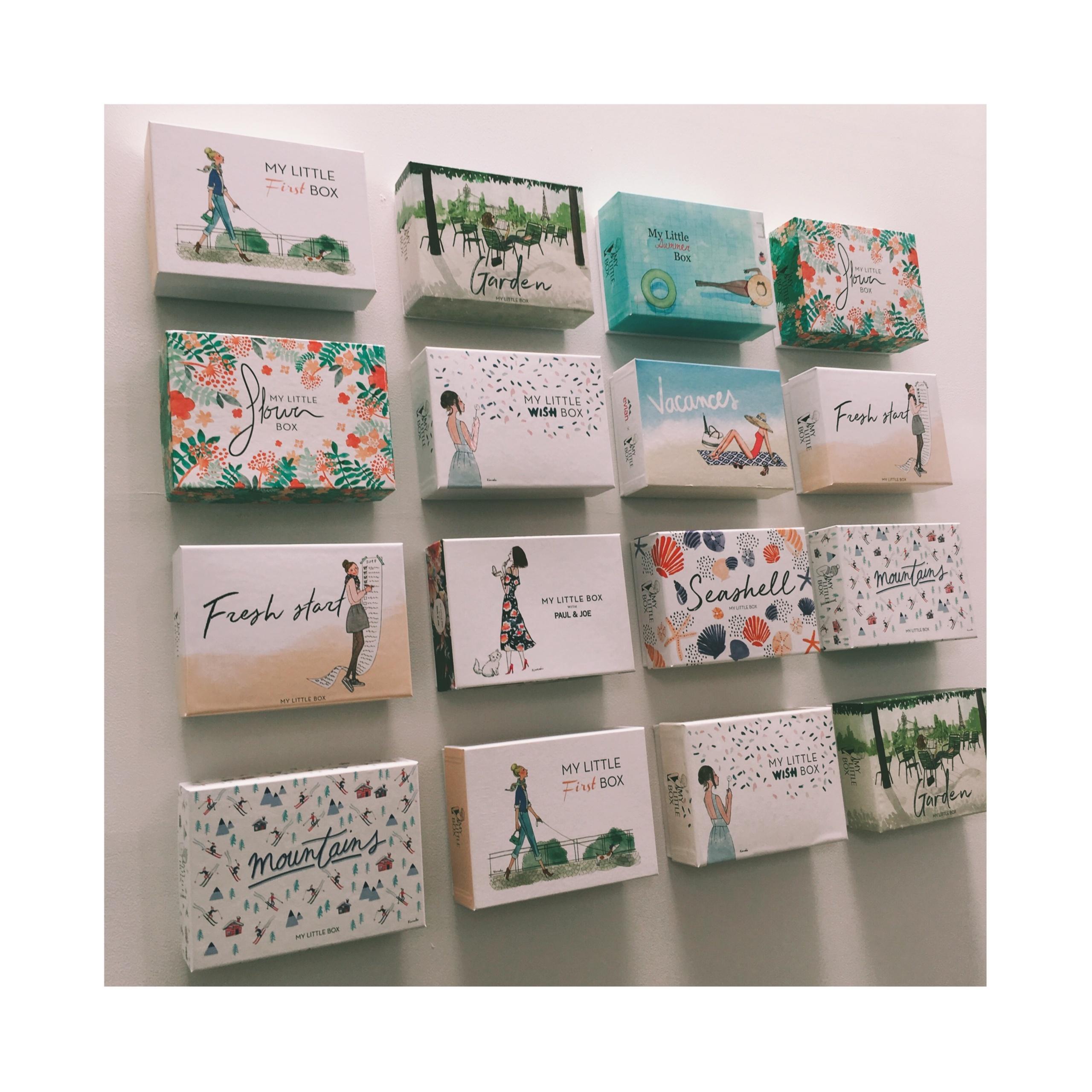 《既日完売の予感⁈❤️》【My Little Box】8月はPAUL&JOEとのコラボ♡ひと足お先にgetしました‼︎_2