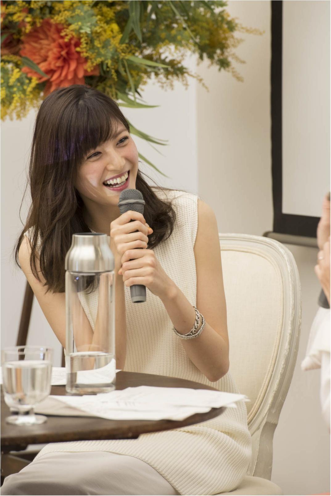 モデル佐藤ありさのこだわりがぎゅっ! 大人気ブランドの新作をイベントで発表しちゃいました☆_3