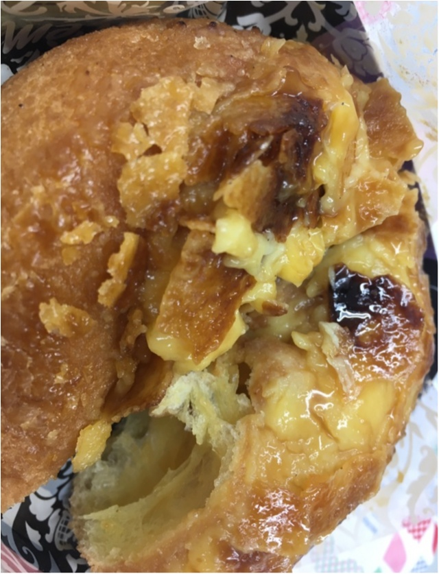 フォークとナイフで食べる新作★ミスドのクリームブリュレドーナッツが美味しすぎるっ!_4