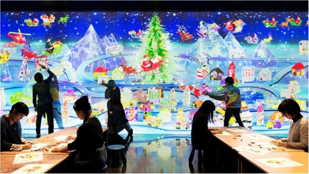 「チームラボ ボーダーレス」がクリスマス仕様に!! お台場に行かなくっちゃ♡_2