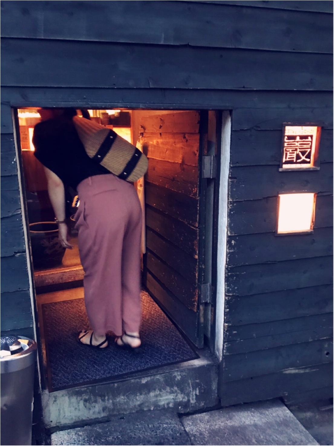 女子会にもデートにも♡渋谷の隠れ家居酒屋「巖(いわお)」_2