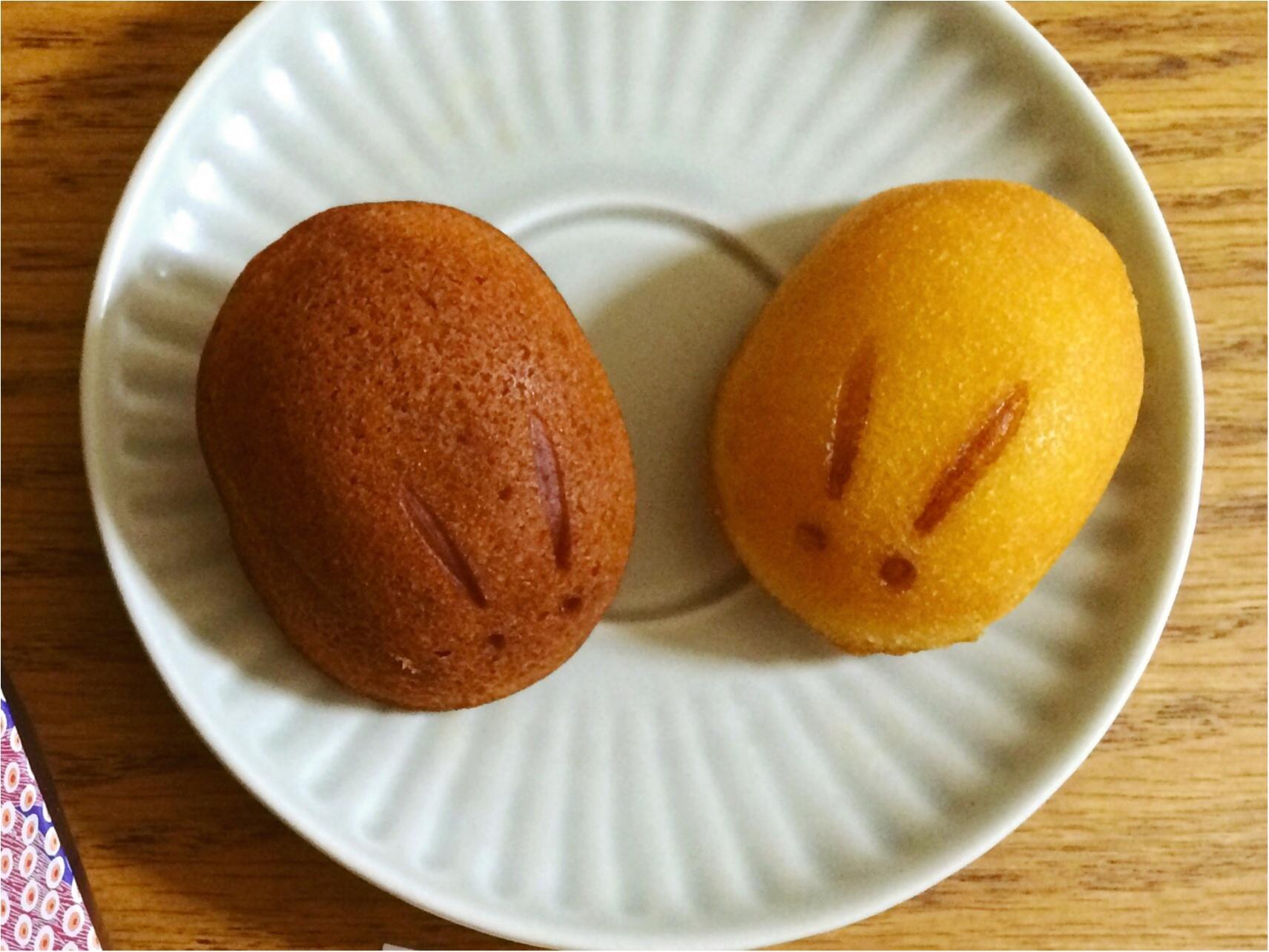 【新宿Sweets】可愛い!モチふわ美味しい!手土産に♡《白金堂》の「兎ケーキ」_2
