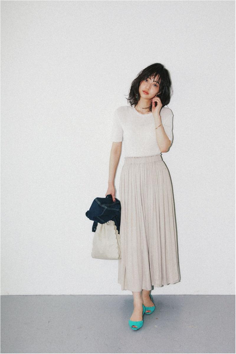 華やかさ、こなれ感が叶う【真夏のベージュ】コーデ15選   ファッション_1_1