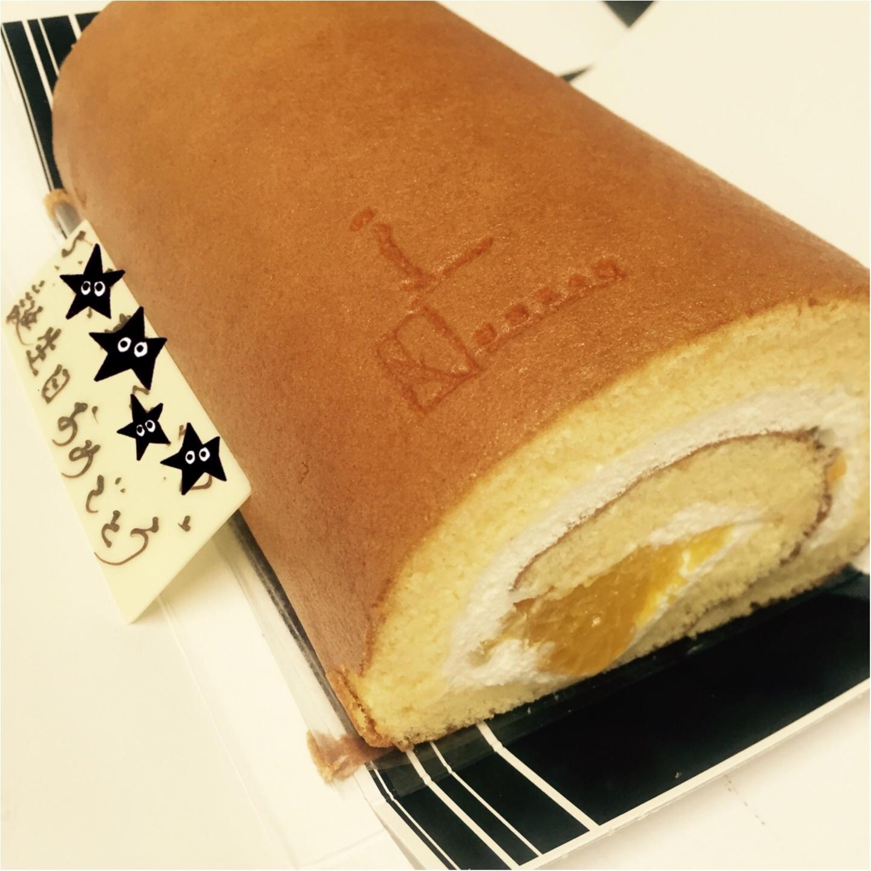 メンズ受けするケーキとは!?happy birthday!誕生日には五感のロールケーキにメッセージを添えて♡_2