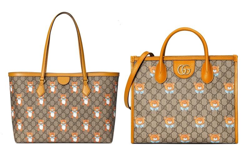 グッチとEXOのカイがコラボした、テディベアコレクションのバッグ
