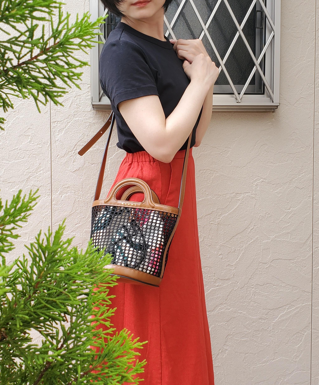 人気ブランド《夏のかごバッグ》バケツ型バッグでこなれ感【MARNI】_3