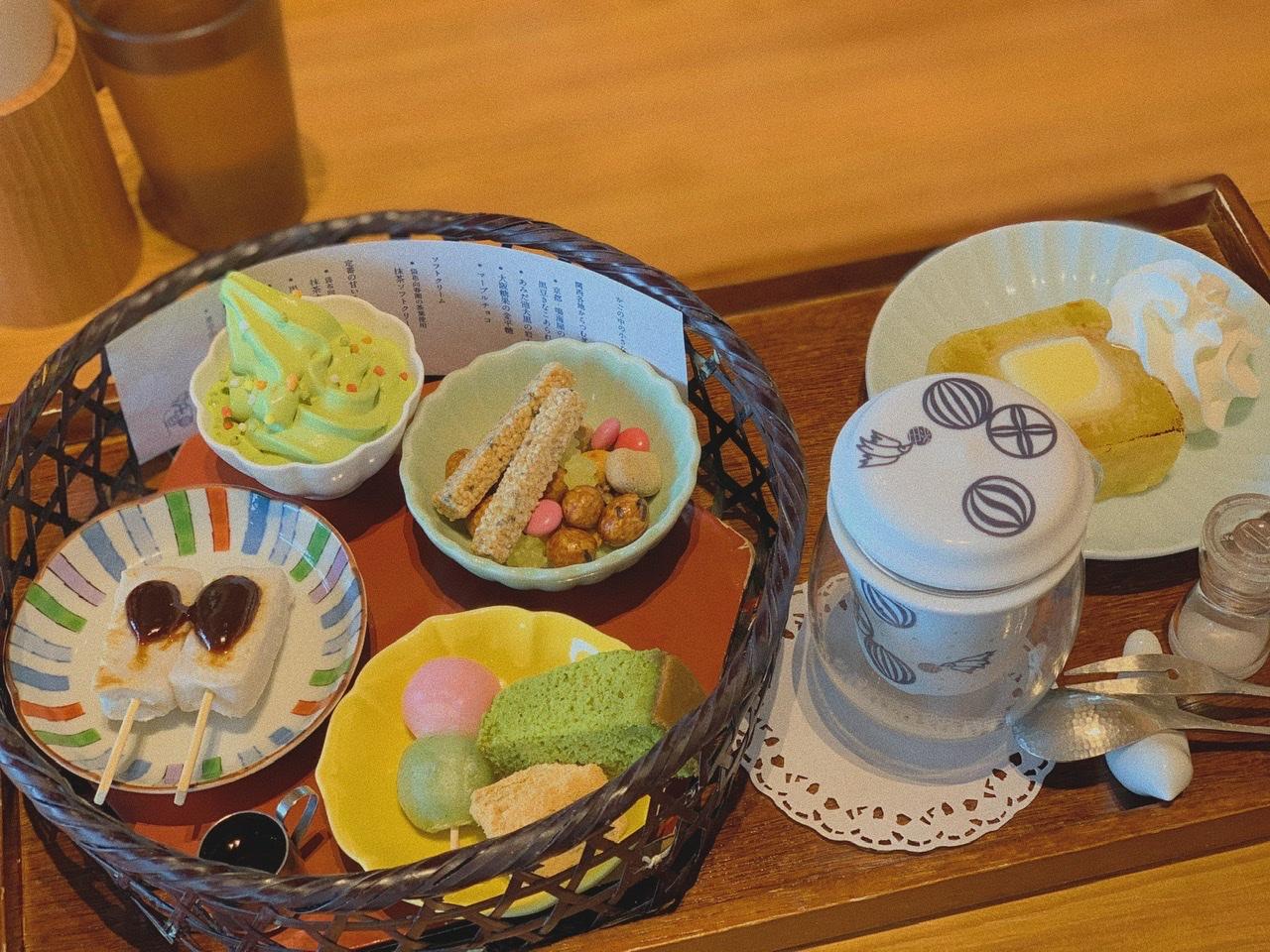 【おすすめ抹茶スイーツ】大人気❤️築地本願寺カフェ《Tsumugi》の絶品スイーツset♪_2