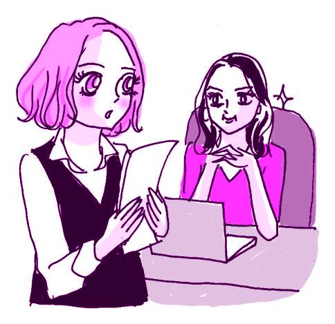 オフィスで使える「女子コミュ」技(4) VS.女性上司_1
