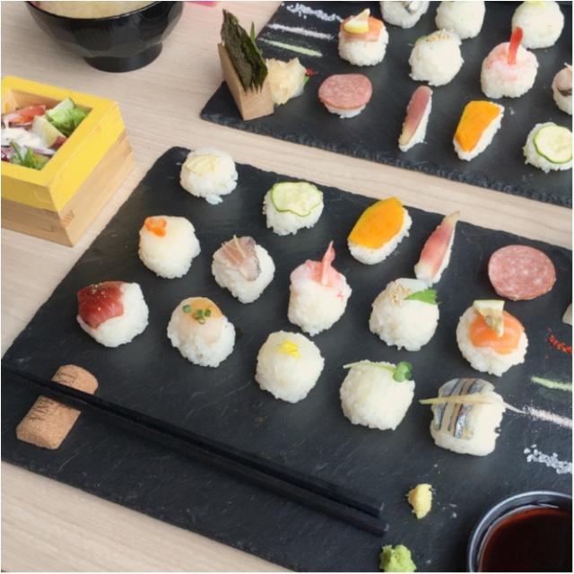 インスタ映え間違いなし!可愛すぎる♡♡フォトジェニックな手まり寿司はいかが?_2