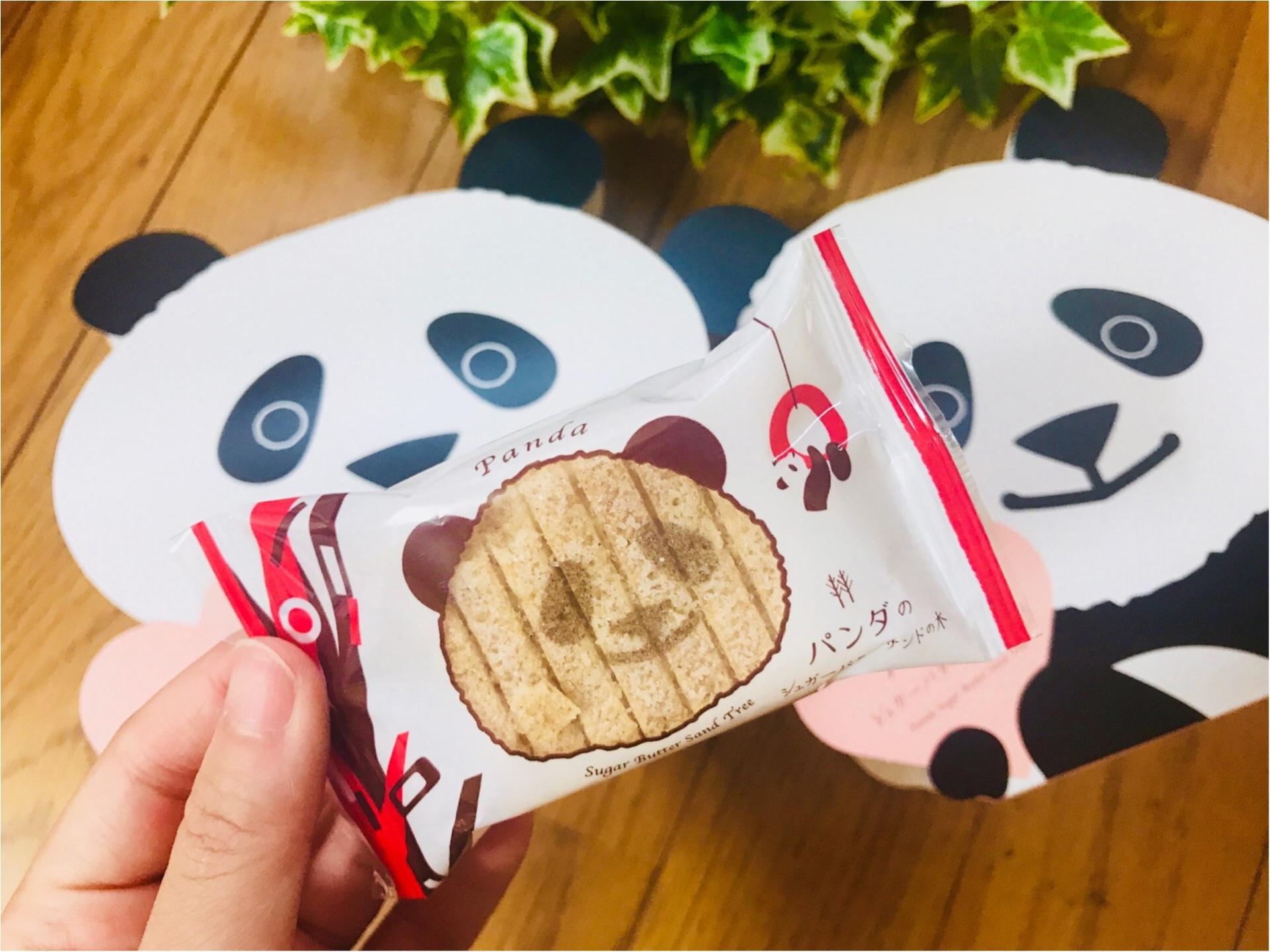 """【帰省土産】はコレで決まり!""""パンダ""""モチーフの《シュガーバターサンドの木》♡_2"""