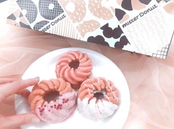 【ミスド 新作】「桜が咲くドドーナツシリーズ」6品を食べてみた♡ お花見のおやつにもおすすめ!