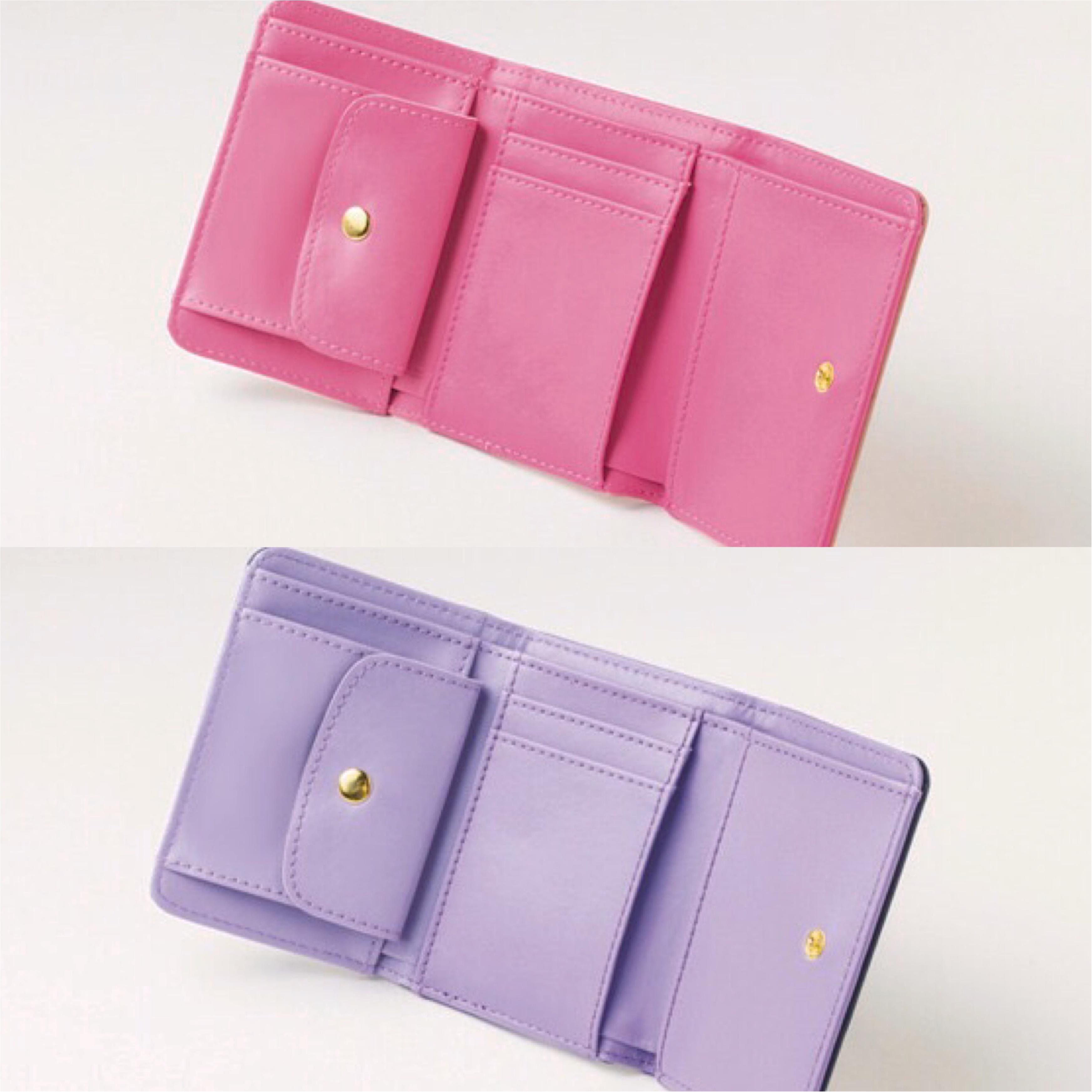 【NEWS】モア11月号の付録は『ジルスチュアート』の三つ折り財布!! ピンクとネイビーから色が選べます♪_3