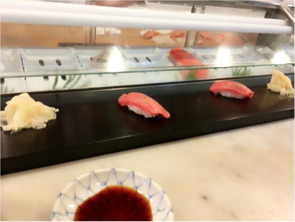 絶品お寿司を築地にて♡_2