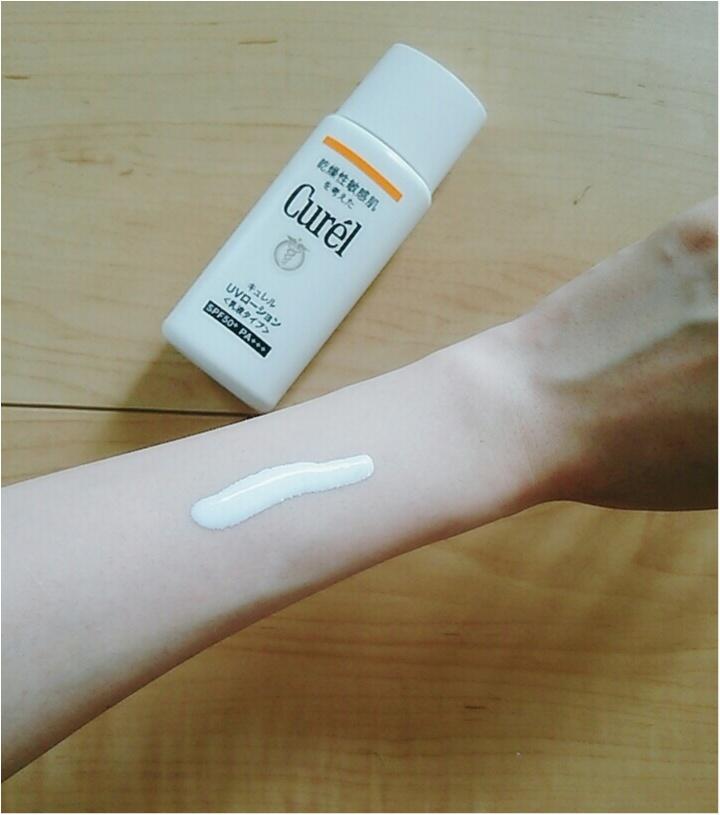 紫外線をカットして、肌ダメージも防ぐ!欲張りな私に【CurelのUVカットシリーズ】(443 まゆ_7